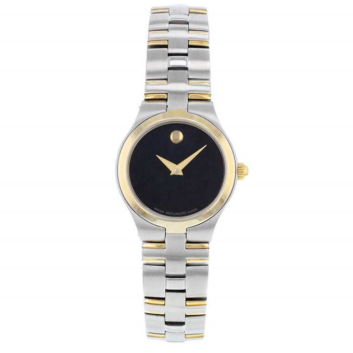Movado Juro Quartz Two-Tone Stainless Steel Watch 0605031