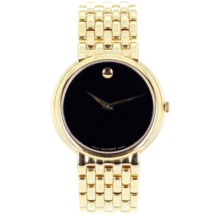 Movado Certa Quartz Gold-Tone Stainless Steel Watch 0605647