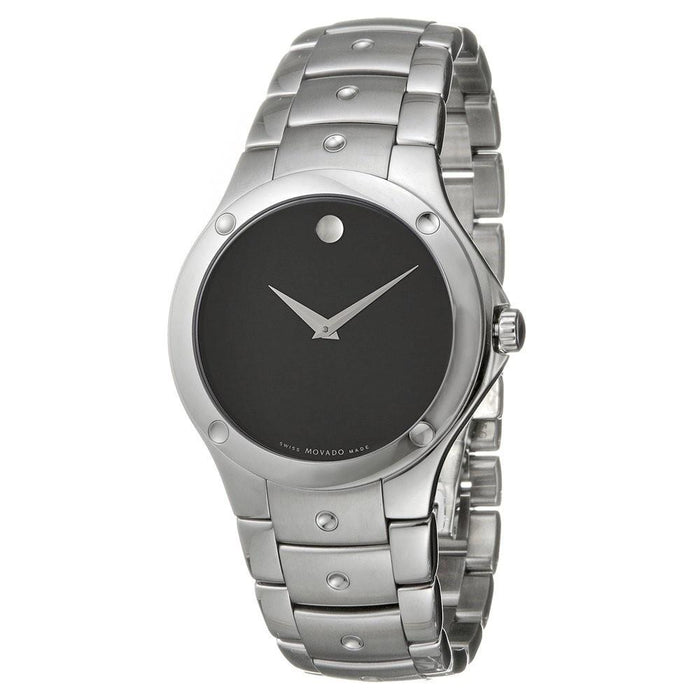 Movado Military Quartz Corporate Exclusive Stainless Steel Watch 0605788