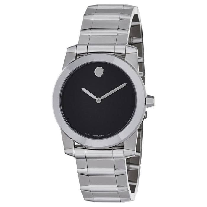 Movado Vizio Quartz Stainless Steel Watch 0605808