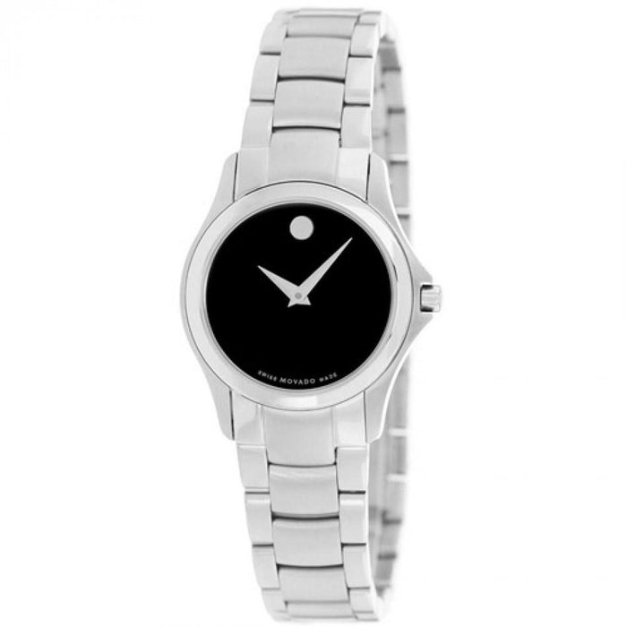 Movado Military Quartz Corporate Exclusive Stainless Steel Watch 0605870