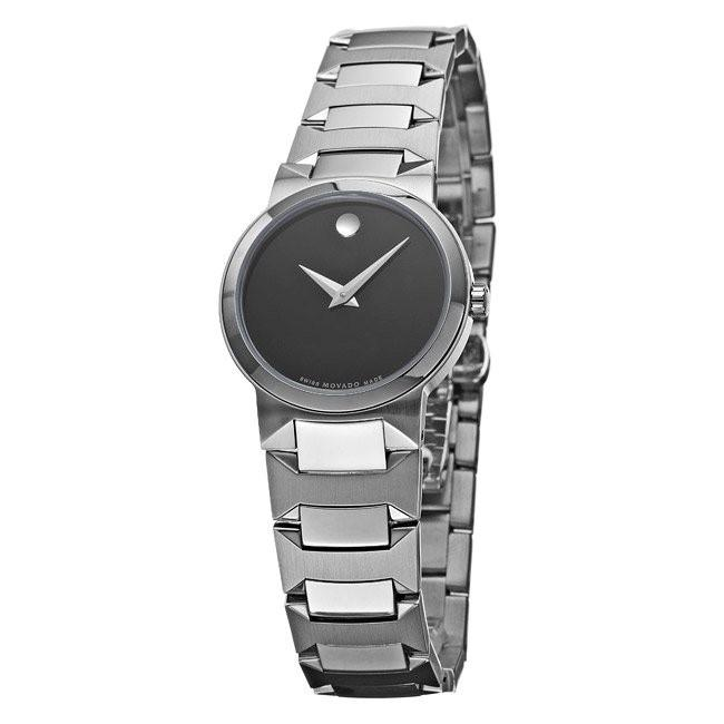 Movado Temo Quartz Stainless Steel Watch 0605904