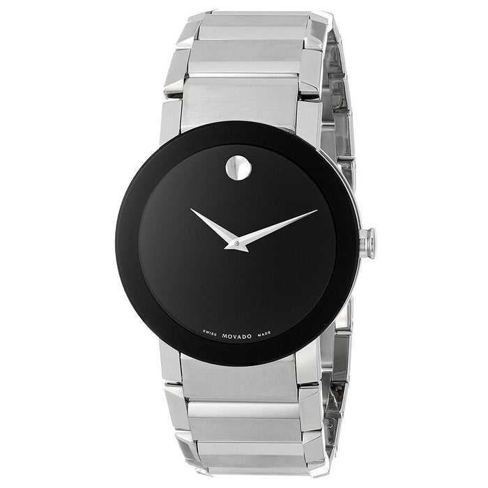 Movado Sapphire Quartz Stainless Steel Watch 0606092