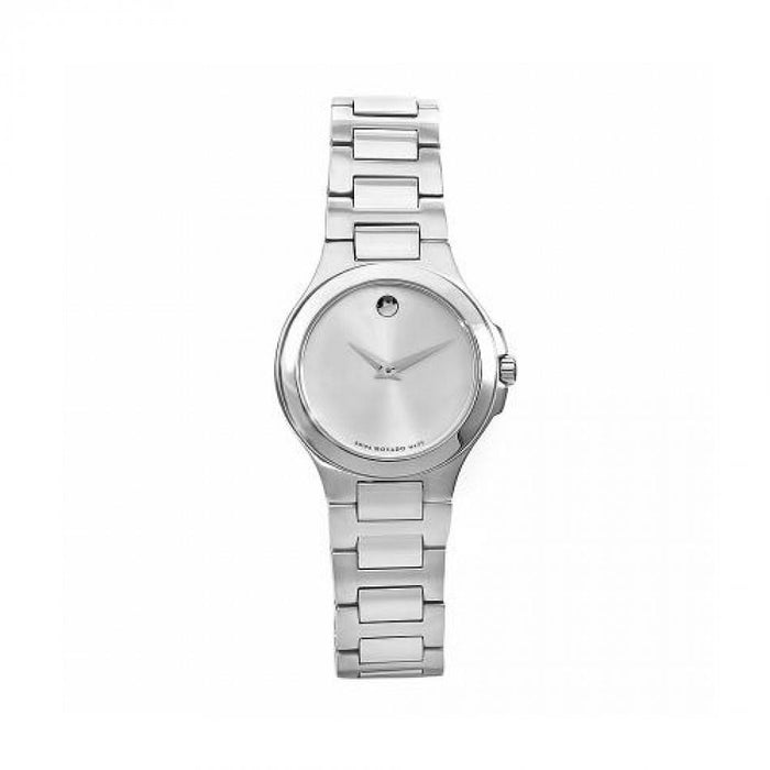 Movado Exclusive Quartz Stainless Steel Watch 0606166