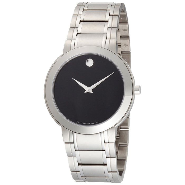 Movado Museum Quartz Stainless Steel Watch 0606191