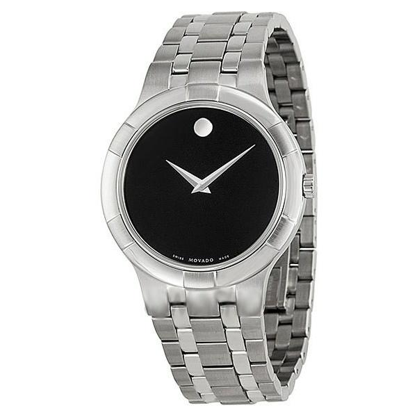 Movado Metio Quartz Stainless Steel Watch 0606203