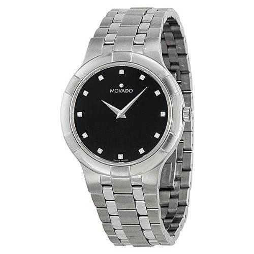 Movado Metio Quartz Stainless Steel Watch 0606205