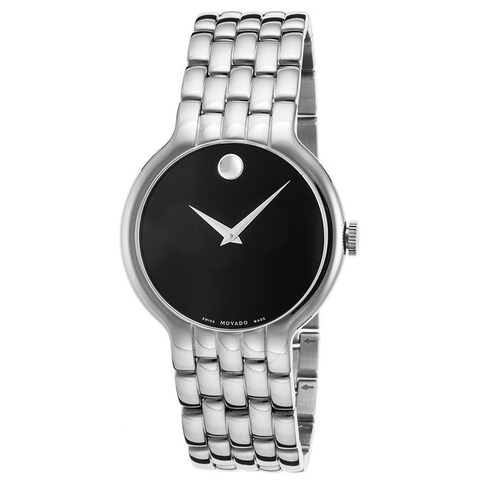 Movado Classic Quartz Stainless Steel Watch 0606337