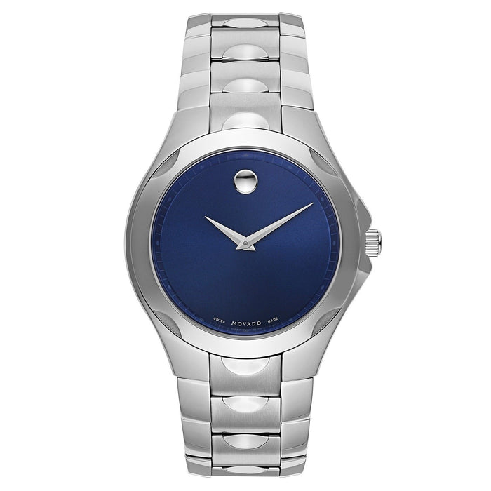 Movado Luno Quartz Stainless Steel Watch 0606380