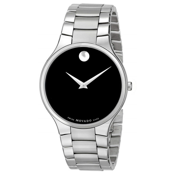 Movado Serio Quartz Stainless Steel Watch 0606382
