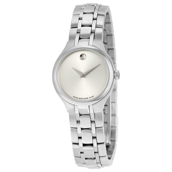 Movado Museum Military Exclusive Quartz Stainless Steel Watch 0606451