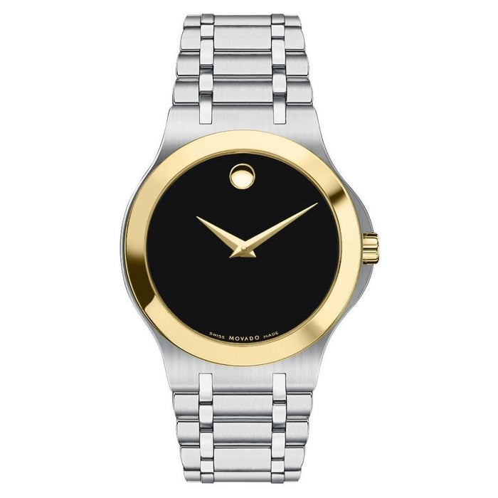 Movado Collection Quartz Stainless Steel Watch 0606465