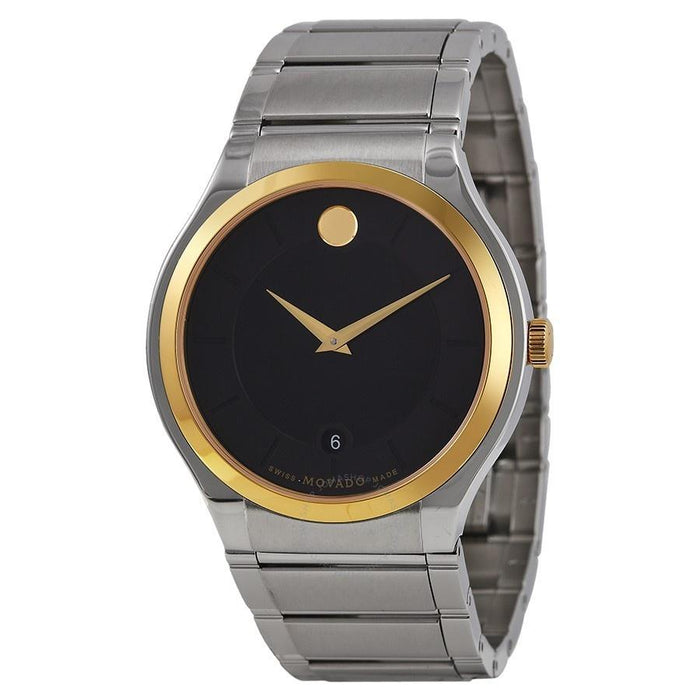 Movado Quadro Quartz Stainless Steel Watch 0606480