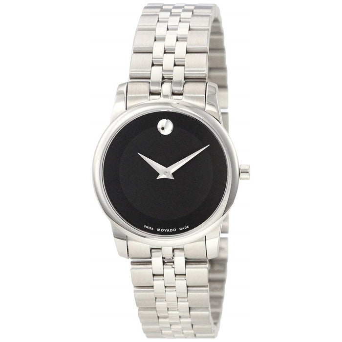 Movado Museum Quartz Stainless Steel Watch 0606505
