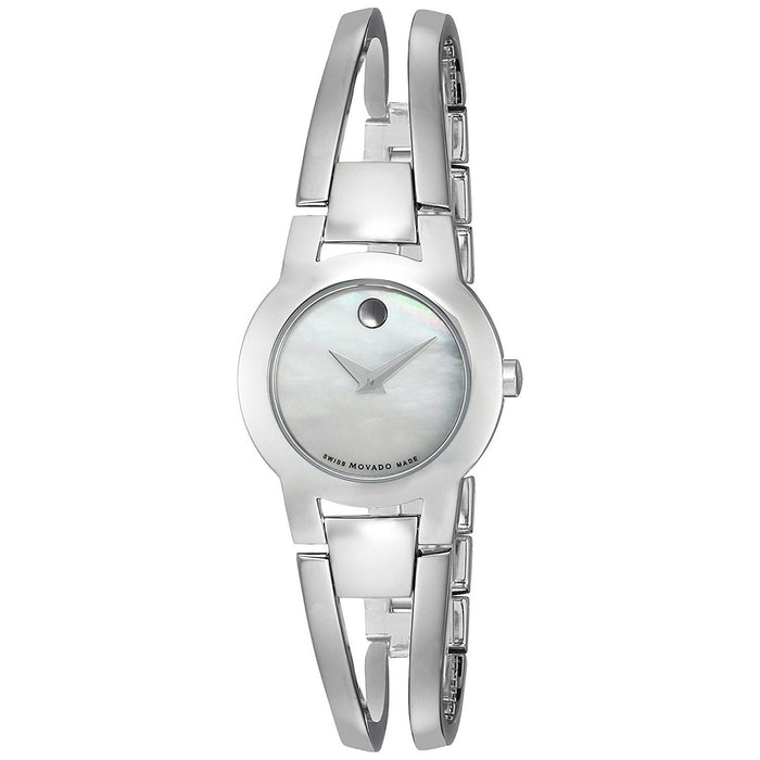 Movado Amorosa Quartz Stainless Steel Watch 0606538