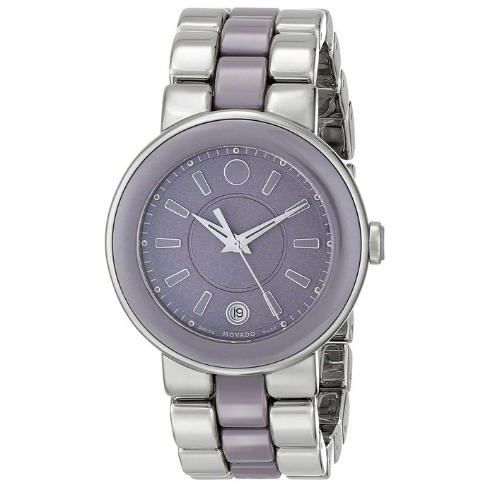 Movado Cerena Quartz Two-Tone Stainless Steel Watch 0606553