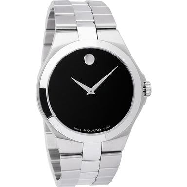 Movado  Quartz Stainless Steel Watch 0606555