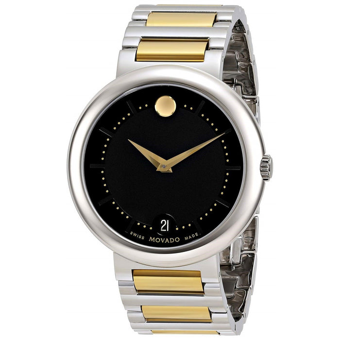Movado Concerto Quartz Two-Tone Stainless Steel Watch 0606588