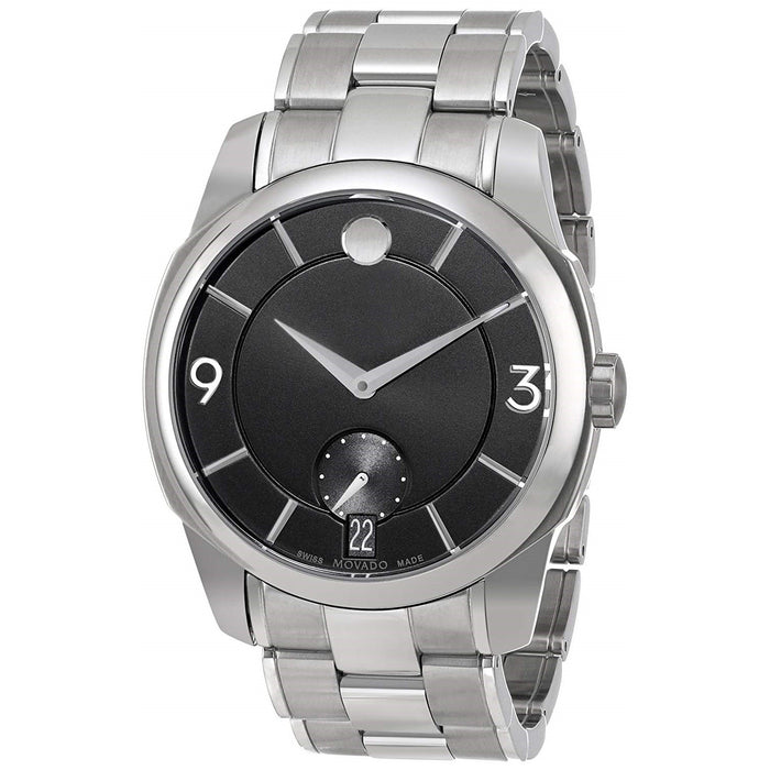 Movado LX Quartz Stainless Steel Watch 0606626
