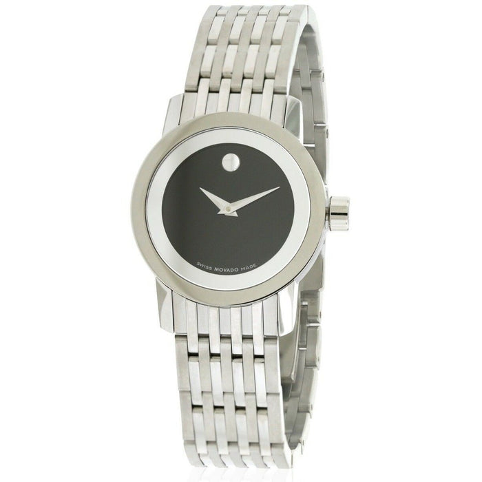 Movado Sapphire Quartz Stainless Steel Watch 0606645