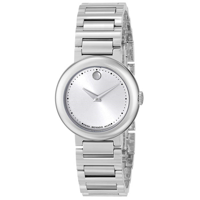 Movado Concerto Quartz Stainless Steel Watch 0606702