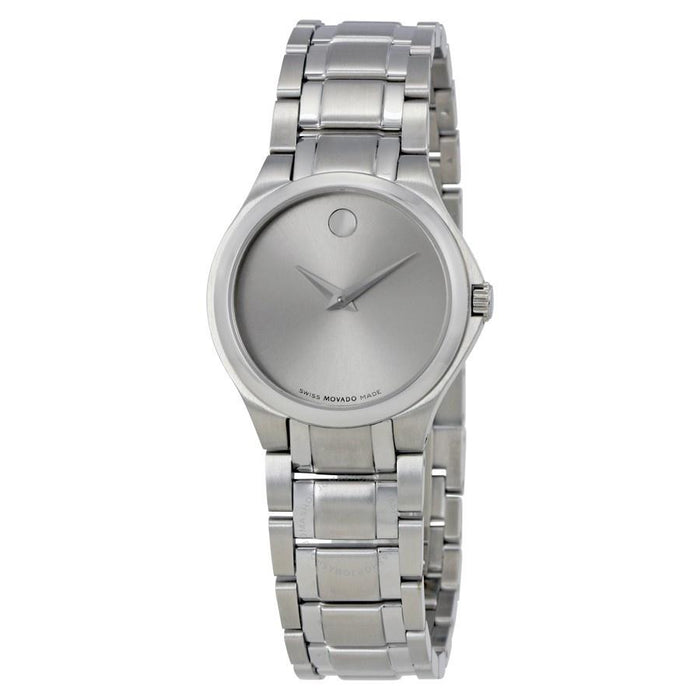 Movado Collection Quartz Stainless Steel Watch 0606785