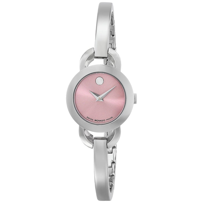 Movado Rondiro Quartz Stainless Steel Watch 0606797