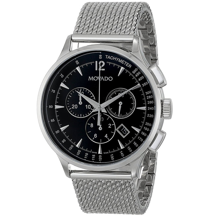 Movado Circa Quartz Chronograph Stainless Steel Watch 0606803