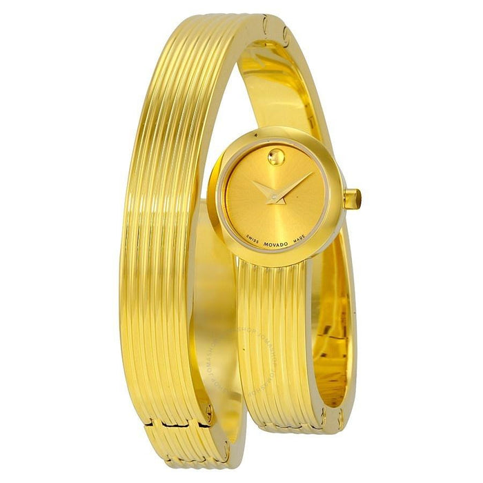 Movado Museum Quartz Gold-Tone Stainless Steel Watch 0606806
