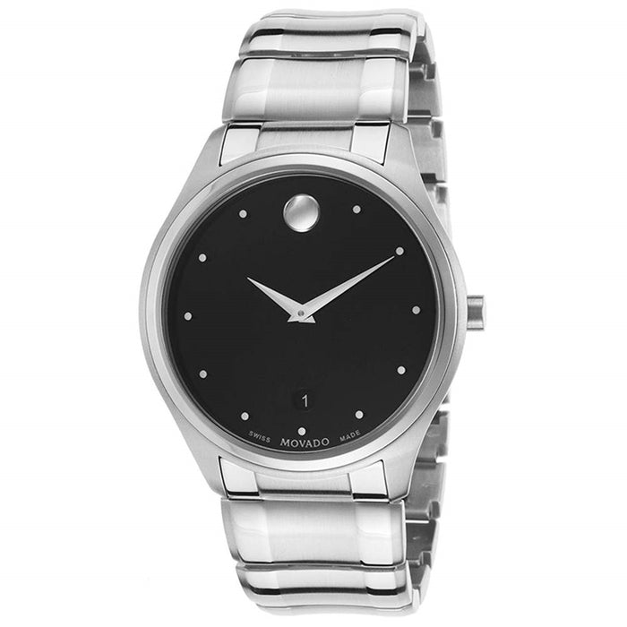 Movado Celo Quartz Stainless Steel Watch 0606839