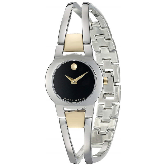 Movado Amorosa Quartz Stainless Steel Watch 0606893