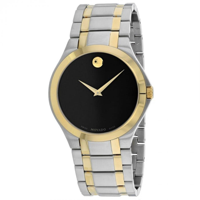 Movado Collection Quartz Two-Tone Stainless Steel Watch 0606896