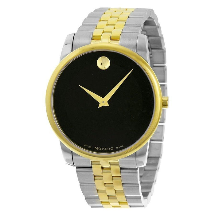 Movado Museum Quartz Two-Tone Stainless Steel Watch 0606899