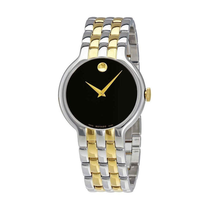Movado Veturi  Quartz Two-Tone Stainless Steel Watch 0606932