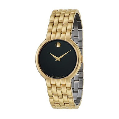 Movado Vetur  Quartz Gold-Tone Stainless Steel Watch 0606934