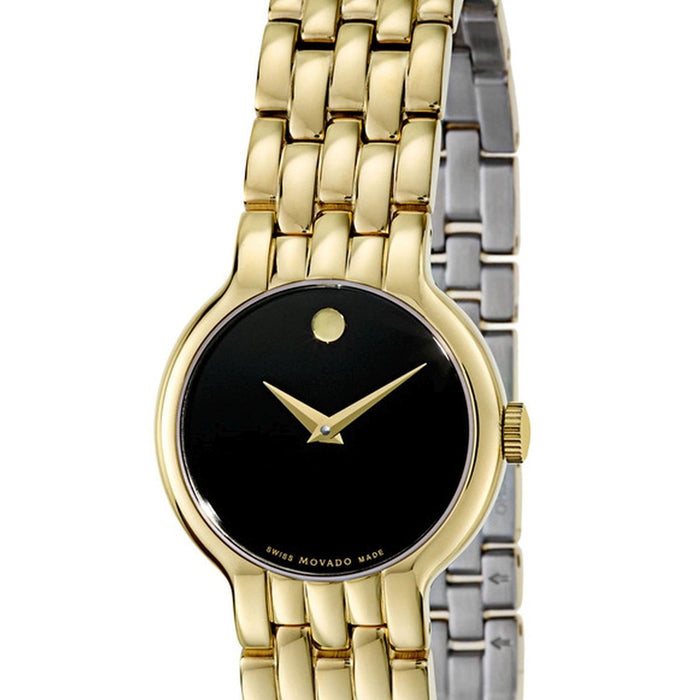 Movado Vetur  Quartz Gold-Tone Stainless Steel Watch 0606935