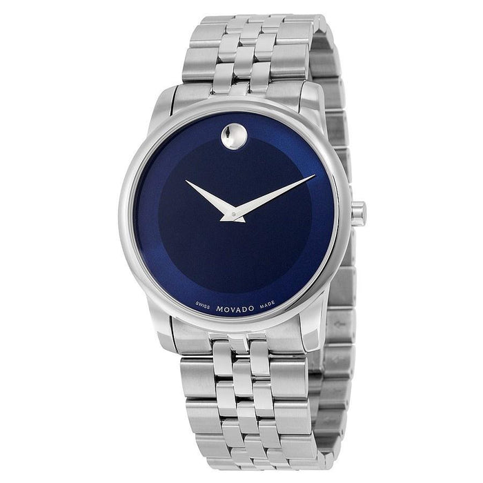 Movado Museum Quartz Stainless Steel Watch 0606982