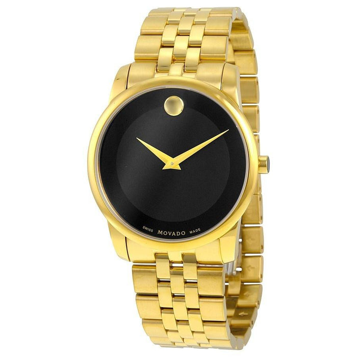 Movado Museum Quartz Gold-tone Stainless Steel Watch 0606997