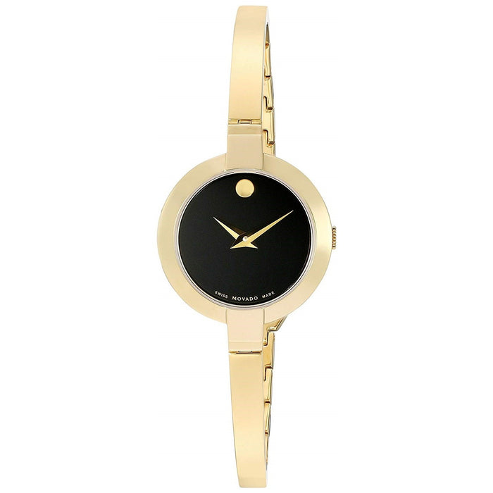 Movado Bela Quartz Gold-Tone Stainless Steel Watch 0606999