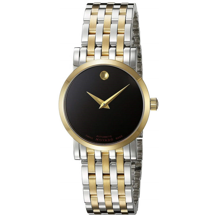 Movado Red Label Automatic Automatic Two-Tone Stainless Steel Watch 0607011