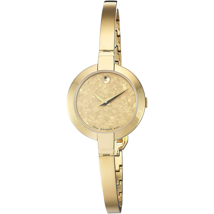 Movado Bela Quartz Gold-Tone Stainless Steel Watch 0607018