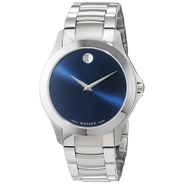 Movado Masino Quartz Stainless Steel Watch 0607033