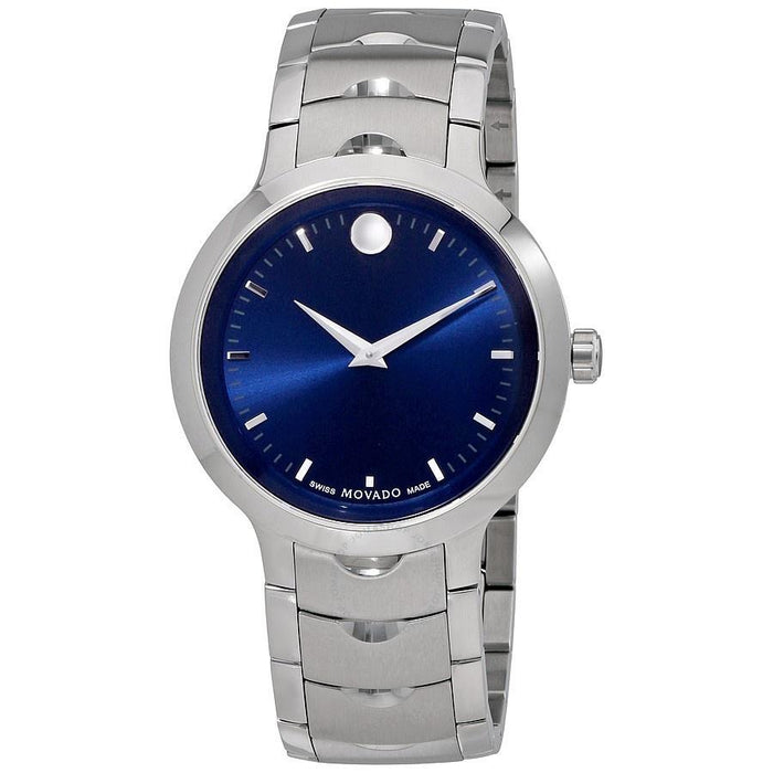Movado Luno Quartz Stainless Steel Watch 0607042