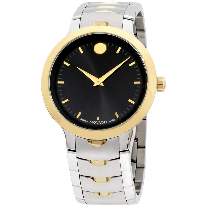 Movado Luno Quartz Stainless Steel Watch 0607043