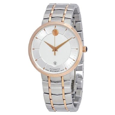 Movado 1881 Automatic Automatic Two-Tone Stainless Steel Watch 0607063