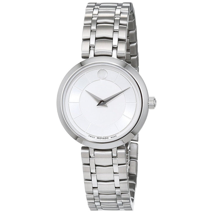Movado 1881 Quartz Stainless Steel Watch 0607098