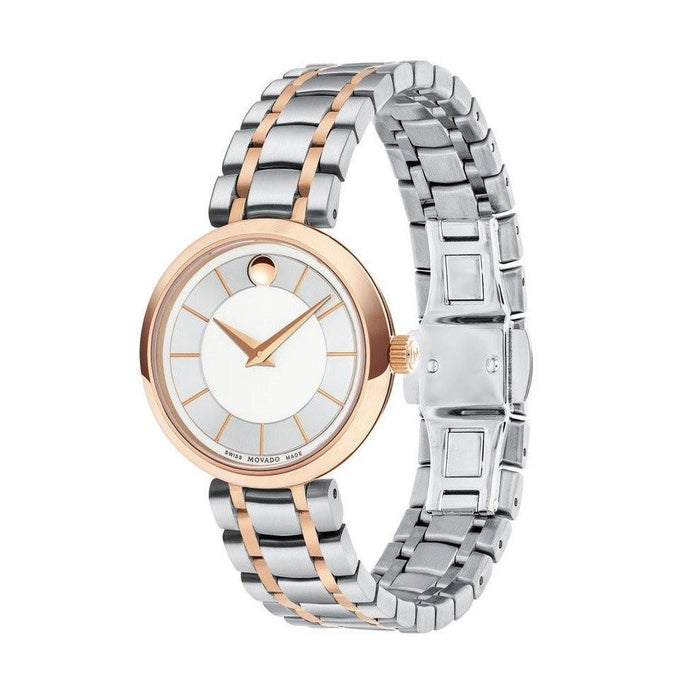 Movado 1881 Quartz Two-Tone Stainless Steel Watch 0607099