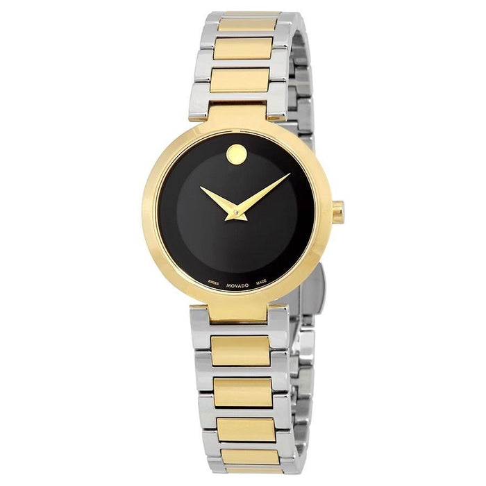 Movado Modern Classic Quartz Two-Tone Stainless Steel Watch 0607102