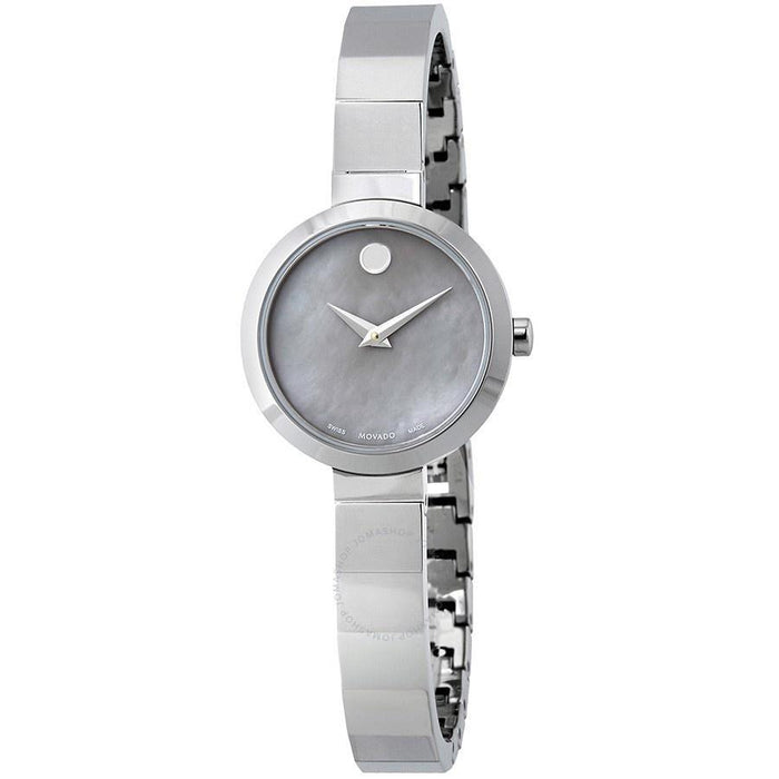 Movado Novella Quartz Stainless Steel Watch 0607110