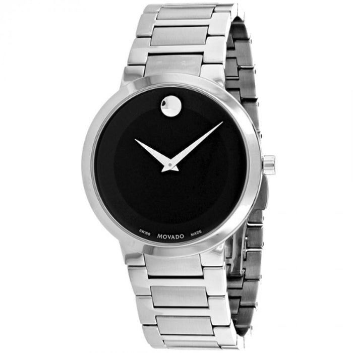 Movado Modern Classic Quartz Stainless Steel Watch 0607119